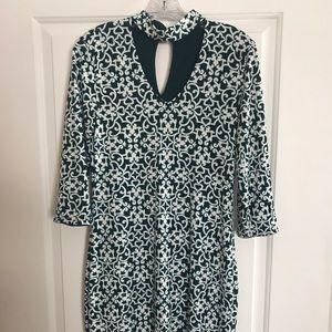 Women's WHBM reversible shift dress, wear 4 ways!